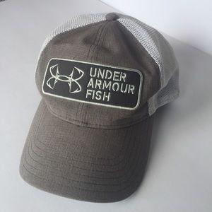 Under Armour fish heat gear SnapBack hat